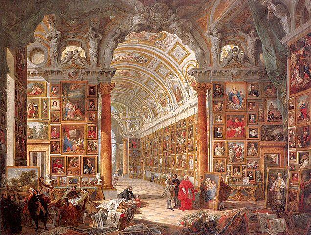 636px-Pannini,_Giovanni_Paolo_Collection_of_Cardinal_Silvio_Gonzaga_-_1740