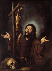 Bernardo_Strozzi_-_St_Francis_of_Assisi_adoring_the_Crucifix_-_Google_Art_Project