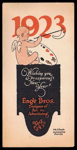 Happy New Year 1923 Public Domain